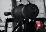 Image of V-1 rocket launcher on rollers Germany, 1947, second 62 stock footage video 65675030734