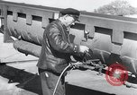 Image of V-1 rocket launch rail Germany, 1942, second 10 stock footage video 65675030738