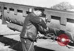 Image of V-1 rocket launch rail Germany, 1942, second 13 stock footage video 65675030738