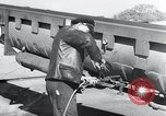 Image of V-1 rocket launch rail Germany, 1942, second 14 stock footage video 65675030738