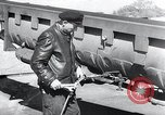 Image of V-1 rocket launch rail Germany, 1942, second 24 stock footage video 65675030738