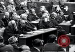 Image of Nuremberg trials Nuremberg Germany, 1946, second 40 stock footage video 65675030757