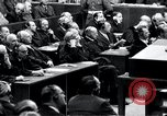 Image of Nuremberg trials Nuremberg Germany, 1946, second 44 stock footage video 65675030757