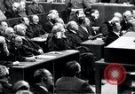 Image of Nuremberg trials Nuremberg Germany, 1946, second 45 stock footage video 65675030757