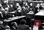 Image of Nuremberg trials Nuremberg Germany, 1946, second 47 stock footage video 65675030757