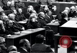 Image of Nuremberg trials Nuremberg Germany, 1946, second 48 stock footage video 65675030757