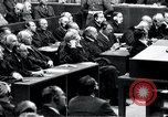 Image of Nuremberg trials Nuremberg Germany, 1946, second 49 stock footage video 65675030757