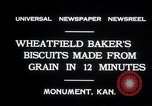 Image of wheat biscuits Monument Kansas USA, 1931, second 2 stock footage video 65675030769