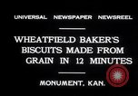 Image of wheat biscuits Monument Kansas USA, 1931, second 3 stock footage video 65675030769