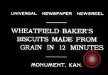 Image of wheat biscuits Monument Kansas USA, 1931, second 4 stock footage video 65675030769