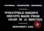 Image of wheat biscuits Monument Kansas USA, 1931, second 7 stock footage video 65675030769