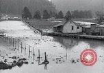 Image of flood water Nelscott Oregon United States USA, 1936, second 23 stock footage video 65675030775