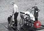 Image of flood water Nelscott Oregon United States USA, 1936, second 28 stock footage video 65675030775