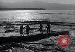 Image of flood water Nelscott Oregon United States USA, 1936, second 37 stock footage video 65675030775
