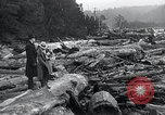 Image of flood water Nelscott Oregon United States USA, 1936, second 40 stock footage video 65675030775