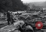 Image of flood water Nelscott Oregon United States USA, 1936, second 41 stock footage video 65675030775