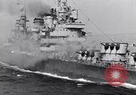 Image of USS Cruiser Savannah CL-42 Agropoli Italy, 1943, second 50 stock footage video 65675030839