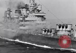 Image of USS Cruiser Savannah CL-42 Agropoli Italy, 1943, second 51 stock footage video 65675030839