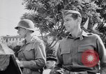 Image of General Mark W Clark Pompeii Italy, 1943, second 21 stock footage video 65675030860