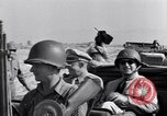 Image of Eisenhower and top generals Paestum Italy, 1943, second 14 stock footage video 65675030880