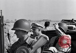 Image of Eisenhower and top generals Paestum Italy, 1943, second 15 stock footage video 65675030880