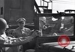 Image of Eisenhower and top generals Paestum Italy, 1943, second 16 stock footage video 65675030880