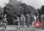 Image of Eisenhower and top generals Paestum Italy, 1943, second 25 stock footage video 65675030880