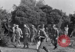Image of Eisenhower and top generals Paestum Italy, 1943, second 27 stock footage video 65675030880