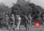 Image of Eisenhower and top generals Paestum Italy, 1943, second 28 stock footage video 65675030880