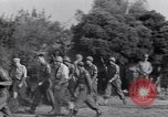 Image of Eisenhower and top generals Paestum Italy, 1943, second 29 stock footage video 65675030880