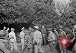 Image of Eisenhower and top generals Paestum Italy, 1943, second 44 stock footage video 65675030880