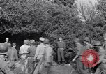 Image of Eisenhower and top generals Paestum Italy, 1943, second 45 stock footage video 65675030880