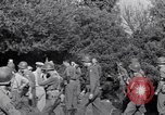 Image of Eisenhower and top generals Paestum Italy, 1943, second 47 stock footage video 65675030880