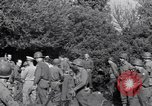Image of Eisenhower and top generals Paestum Italy, 1943, second 48 stock footage video 65675030880