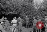 Image of Eisenhower and top generals Paestum Italy, 1943, second 51 stock footage video 65675030880