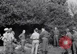 Image of Eisenhower and top generals Paestum Italy, 1943, second 53 stock footage video 65675030880
