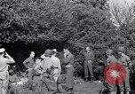 Image of Eisenhower and top generals Paestum Italy, 1943, second 56 stock footage video 65675030880
