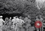 Image of Eisenhower and top generals Paestum Italy, 1943, second 60 stock footage video 65675030880