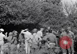 Image of Eisenhower and top generals Paestum Italy, 1943, second 62 stock footage video 65675030880