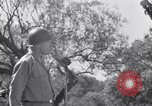 Image of General George Patton Cefalu Italy, 1943, second 30 stock footage video 65675030881