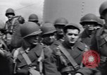 Image of American 5th Division infantry Gourock Scotland, 1943, second 33 stock footage video 65675030885