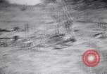 Image of Japanese airfield and planes at Lae destroyed by allied bombers New Guinea, 1943, second 21 stock footage video 65675030887