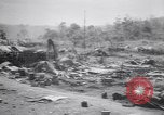 Image of Japanese airfield and planes at Lae destroyed by allied bombers New Guinea, 1943, second 22 stock footage video 65675030887