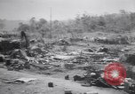 Image of Japanese airfield and planes at Lae destroyed by allied bombers New Guinea, 1943, second 23 stock footage video 65675030887