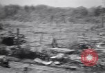 Image of Japanese airfield and planes at Lae destroyed by allied bombers New Guinea, 1943, second 27 stock footage video 65675030887