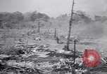 Image of Japanese airfield and planes at Lae destroyed by allied bombers New Guinea, 1943, second 29 stock footage video 65675030887