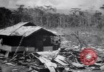 Image of Japanese airfield and planes at Lae destroyed by allied bombers New Guinea, 1943, second 34 stock footage video 65675030887
