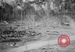 Image of Japanese airfield and planes at Lae destroyed by allied bombers New Guinea, 1943, second 38 stock footage video 65675030887