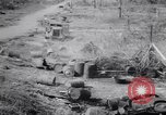 Image of Japanese airfield and planes at Lae destroyed by allied bombers New Guinea, 1943, second 44 stock footage video 65675030887