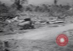Image of Japanese airfield and planes at Lae destroyed by allied bombers New Guinea, 1943, second 48 stock footage video 65675030887